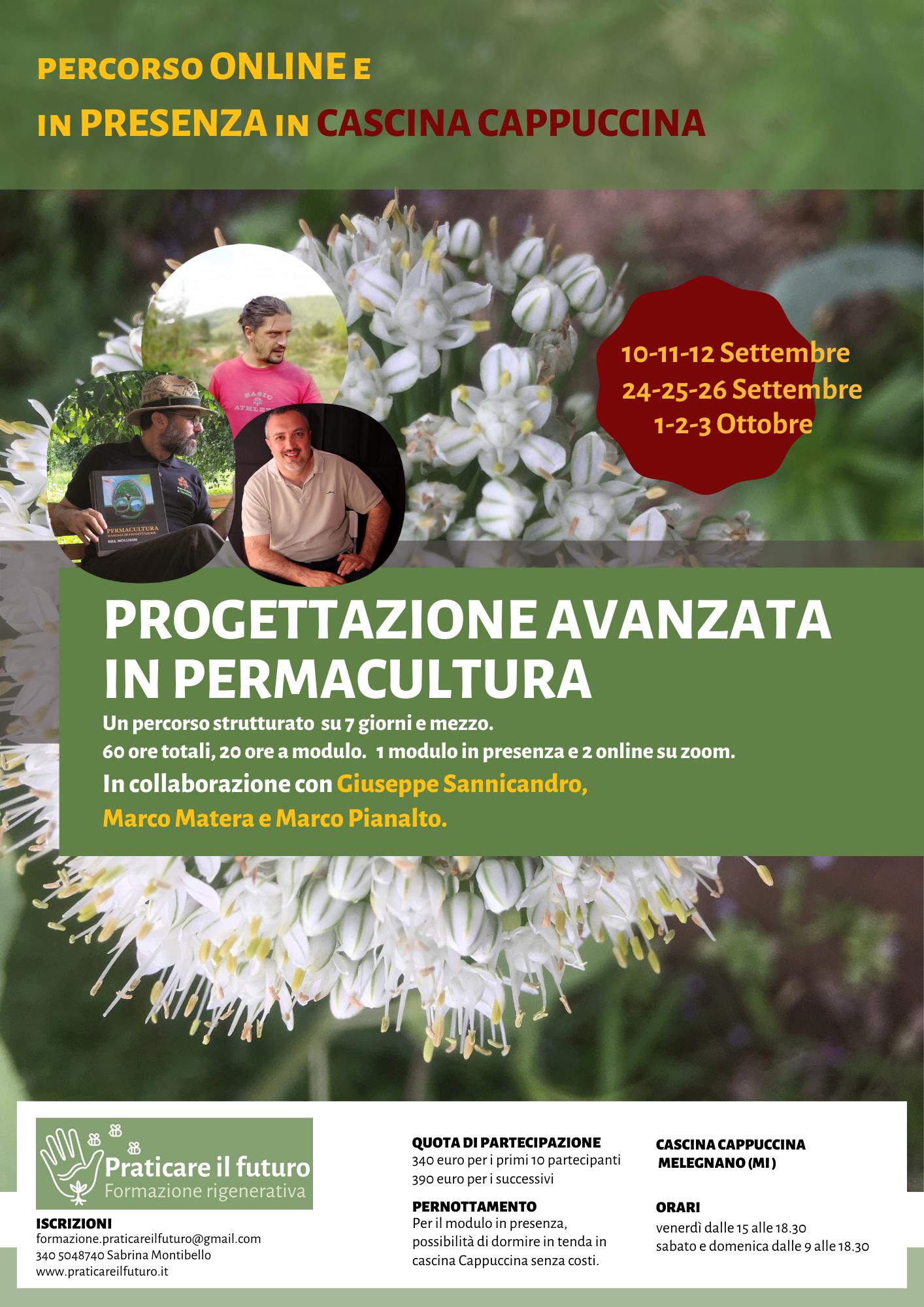 locandina__PROGETTAZIONE AVANZATA_PERMACULTURA_sannicandro_pianalto_matera